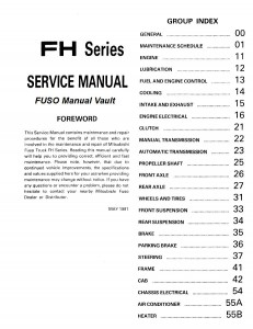 fhcover 231x300 1992 1995 mitsubishi fuso fh100 truck service manual pdf download mitsubishi fuso canter wiring diagram at gsmx.co