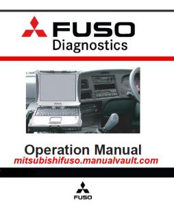 Mitsubishi FUSO Diagnostics User Manual PDF Download