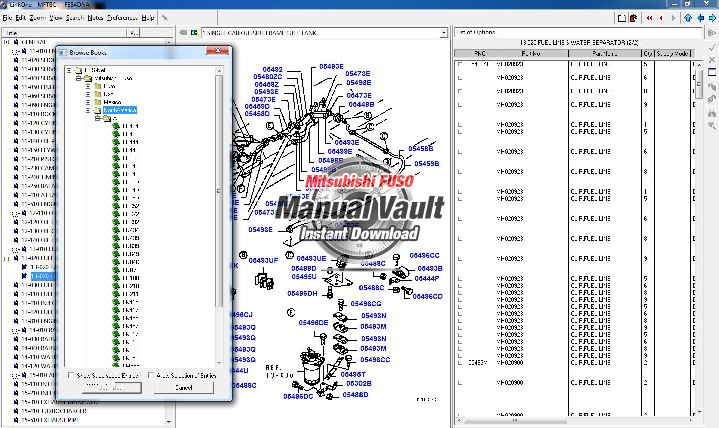 other archives rh mitsubishifuso manualvault com mitsubishi fuso canter parts manual Mitsubishi Canter Parts Starter